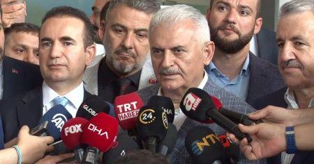 Binali Yıldırım: Cumhurbaşkanı Erdoğan yayın için 'hayırlı olsun' dedi
