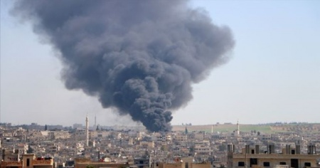 Esad rejiminin İdlib'e saldırıları sürüyor