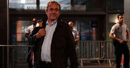 Eski UEFA Başkanı Michel Platini serbest bırakıldı