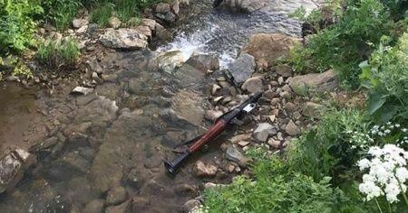 Hakkari'de PKK terör örgütüne ait mühimmat ele geçirildi