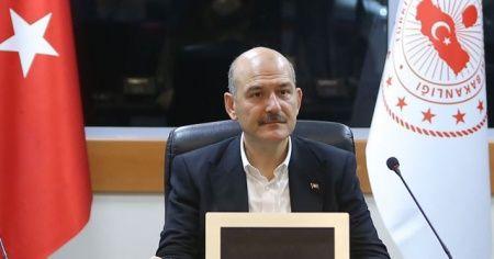 İçişleri Bakanı Soylu: 'Türkiye'yi diktatörlükle suçlayanlar, dün akşam sevinç çığlıkları atıyordu'