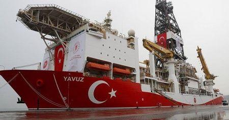 İkinci sondaj gemisi 'Yavuz' yola çıktı