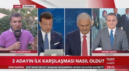 İsmail Küçükkaya tarihi yayını Ekrem Açıkel ile TGRT Ana Haber canlı yayınında açıklıyor