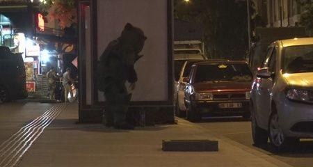 Kars'ta otobüs durağına bırakılan şüpheli çanta fünye ile patlatıldı