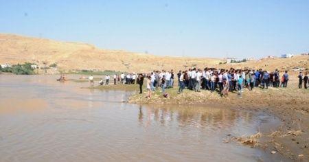 Serinlemek için Dicle Nehri'ne giren 20 yaşındaki genç suda kayboldu