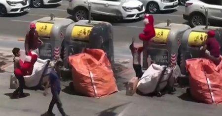 Sosyal medyada binlerce kişi tarafından izlendi, çöpten çıkan mutluluk