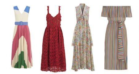 Yaz sezonuna özel elbiseler