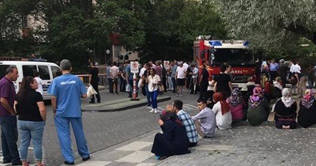 Ankara'da kimyasal madde alarmı!  19 personel gazdan etkilendi