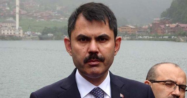 Bakan Kurum açıkladı! Uzungöl'de kaçak yapılar yıkılacak