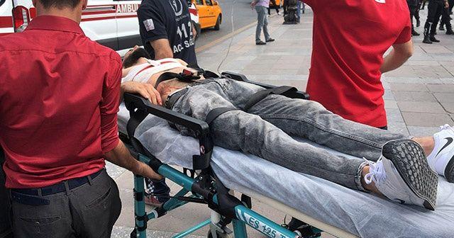 Ankara'da 'yan baktın' kavgası kanlı bitti: 1 yaralı