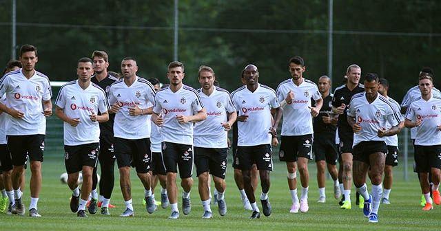 Beşiktaş, Avusturya'da ilk antrenmanı yaptı