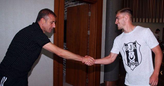 Beşiktaş'ın yeni transferi kampa katıldı