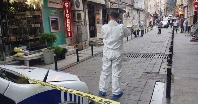 Beşiktaş'ta silahlı kavga! 1 yaralı