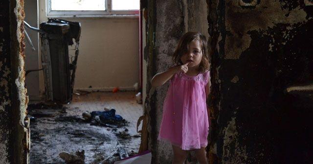 Cep telefonu bomba gibi patladı! 4 çocuklu aile evsiz kaldı