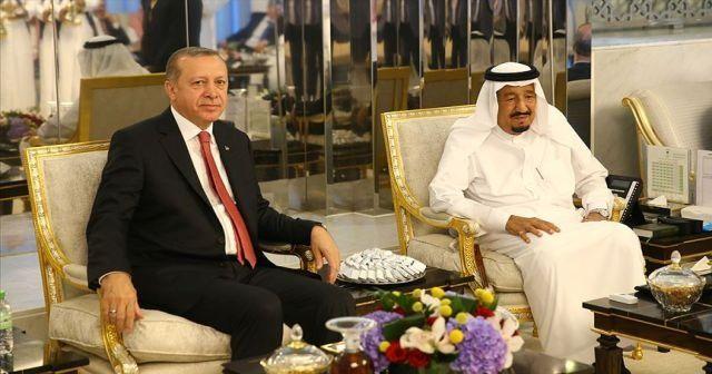 Cumhurbaşkanı Erdoğan'dan Kral Selman'a kritik telefon