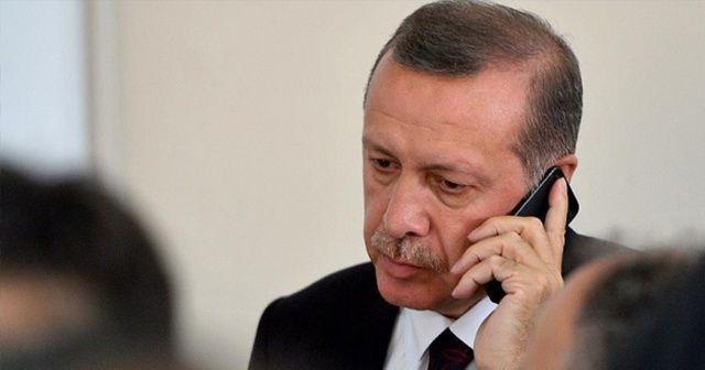 Cumhurbaşkanı Erdoğan'dan kritik telefon görüşmesi!