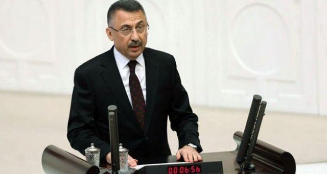 Cumhurbaşkanı Yardımcısı Oktay: Tüm dünya milletçe nasıl yekvücut olduğumuzu görmüştür