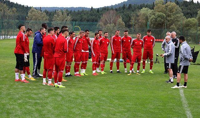 D.G.Sivasspor kamp çalışmalarına devam ediyor