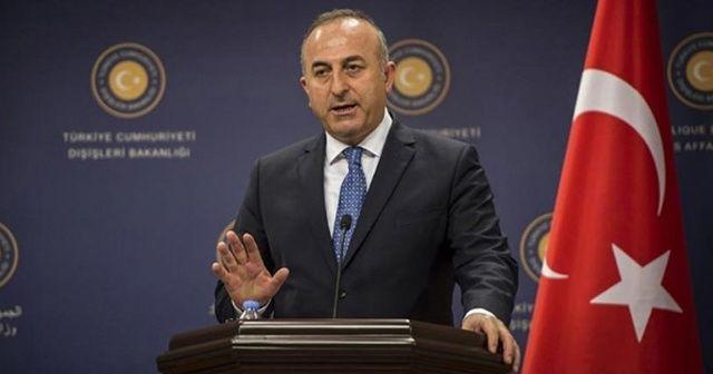 Dışişleri Bakanı Çavuşoğlu İngiliz Bakan Alan Duncan ile görüştü