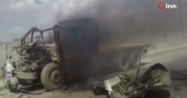 El Bab'da bombalı araç patlatıldı