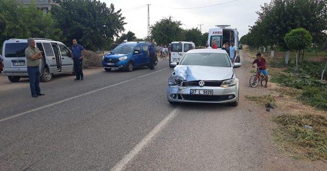 Elbeyli ilçesinde kaza: 2 yaralı