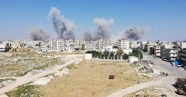 Esad rejimi İdlib'e yine saldırdı: 8 ölü, 35 yaralı