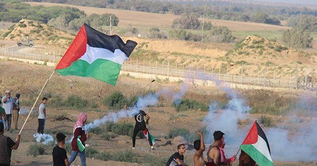Gazze sınırında 97 kişi yaralandı