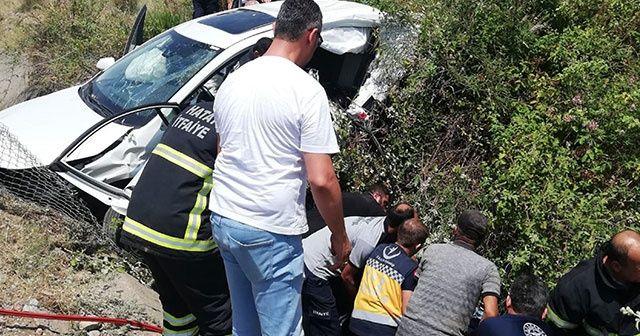 Hatay'da feci trafik kazası