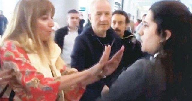 Havalimanı çalışanına hakaret eden kadına hapis cezası istemi