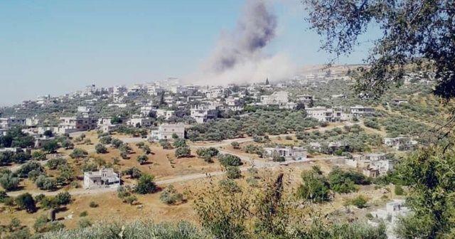 İdlib'e hava saldırılarında ağır bilanço