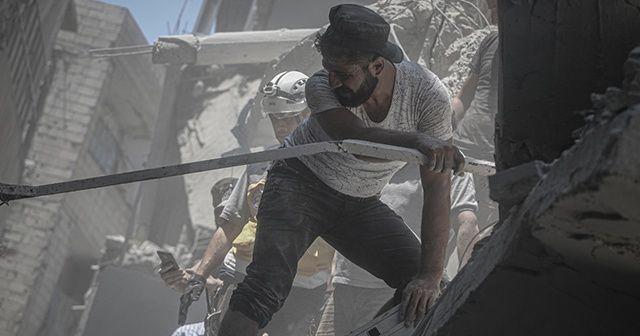 İdlib'e saldırılar devam ediyor: 14 ölü