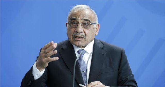 Irak Başbakanı Abdulmehdi'den 'Yüzyılın Anlaşması' açıklaması