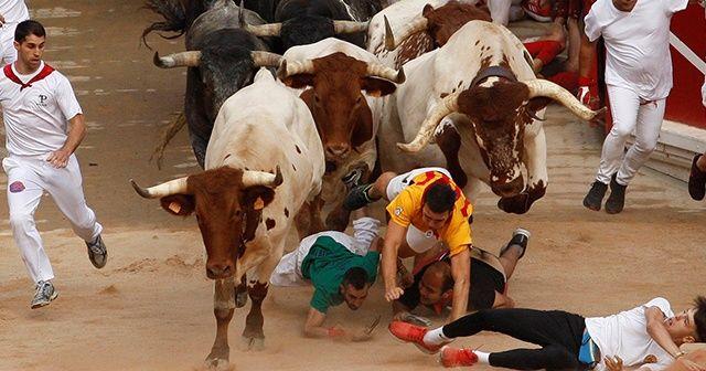 İspanya'da Boğa Festivali'nin son gününde 8 kişi yaralandı