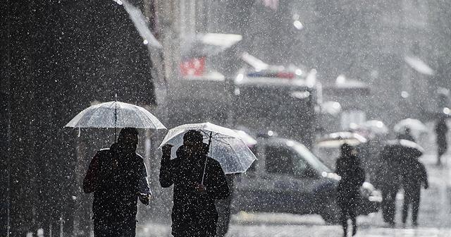 İstanbul'da yağış akşam saatlerinde etkisini kaybedecek