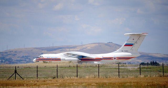 İşte S-400 sevkiyatını yapan uçak: RA-76363