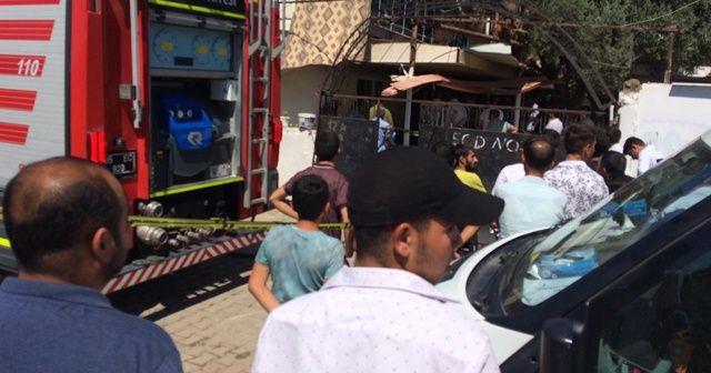 İzmir'de ev yangını: 1 ölü, 1 yaralı