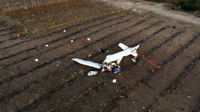 Katar'da iki eğitim uçağı çarpıştı