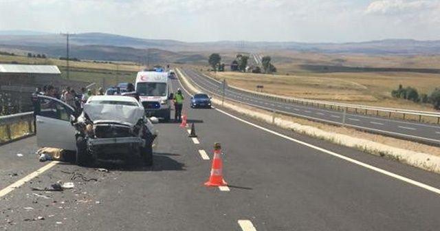 Kırşehir'de trafik azası: 1 ölü, 3 yaralı