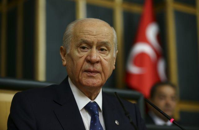 MHP Genel Başkanı Bahçeli: 'Ekonomide felaket senaryosu yazanlar utanmasını kaybetmiş densizlerdir'