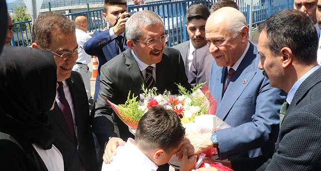 MHP Genel Başkanı Bahçeli, Karabük'te