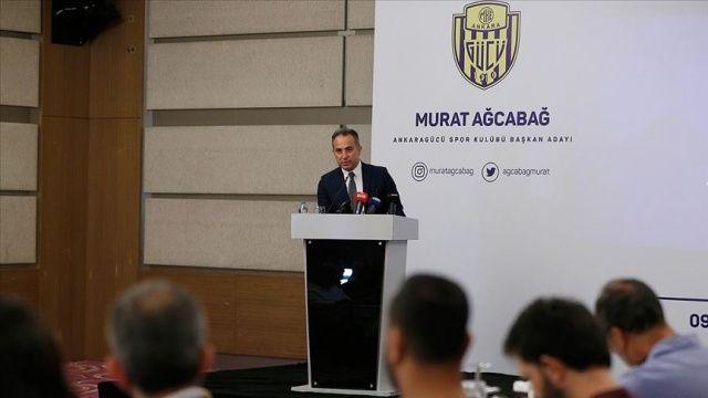 MKE Ankaragücü'nde Murat Ağcabağ başkanlığa aday oldu