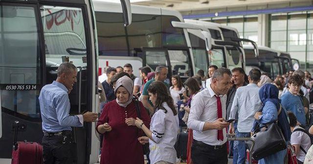 Kurban Bayramı'nda otobüs firmalarına ek sefer izni