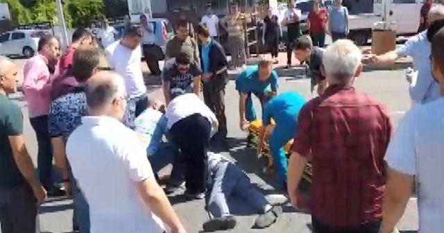 Otomobilin çarptığı yaşlı adam hayata tutunamadı