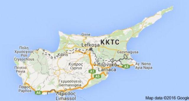 Rumlardan KKTC tarafına molotof'lu saldırı