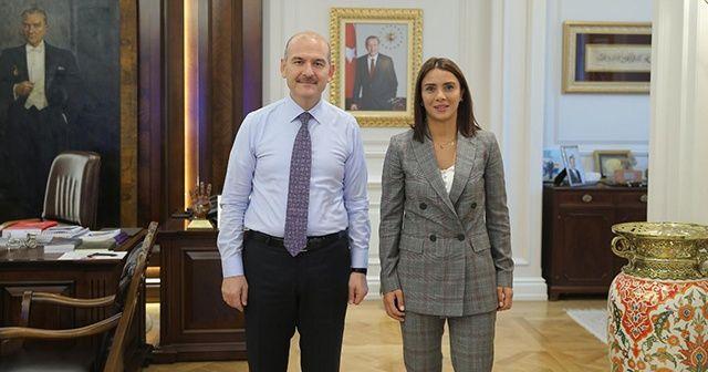 Sabriye Şengül'den İçişleri Bakanı Süleyman Soylu'ya ziyaret