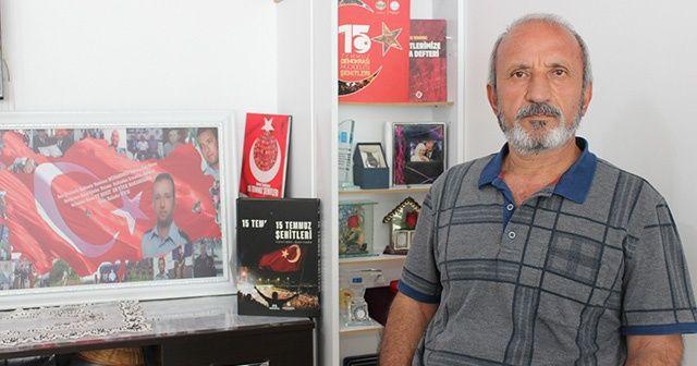Şehit babası 15 Temmuz günü yaşananları anlattı