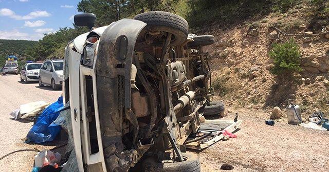 Sivas'da trafik kazasında 9 yaralı