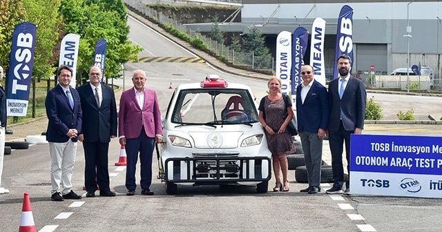 Sürücüsüz araç test parkuru kullanıma açıldı