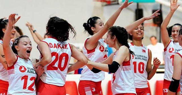 Türkiye voleybolda Avrupa Şampiyonu