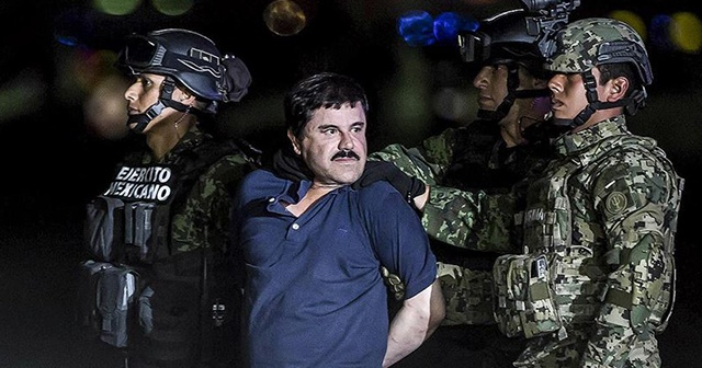 Uyuşturucu baronu El Chapo'ya ömür boyu hapis cezası